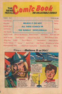 Cover Thumbnail for The News Herald Comic Book the Collectable Comics (Lake County News Herald, 1978 series) #7