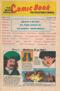 Cover Thumbnail for The News Herald Comic Book the Collectable Comics (Lake County News Herald, 1978 series) #10