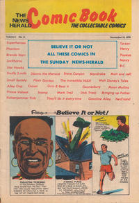 Cover Thumbnail for The News Herald Comic Book the Collectable Comics (Lake County News Herald, 1978 series) #11