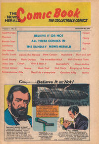 Cover Thumbnail for The News Herald Comic Book the Collectable Comics (Lake County News Herald, 1978 series) #12