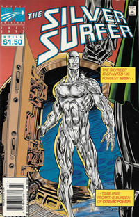 Cover Thumbnail for Silver Surfer (Marvel, 1987 series) #106 [Newsstand]