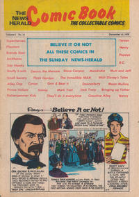 Cover Thumbnail for The News Herald Comic Book the Collectable Comics (Lake County News Herald, 1978 series) #14