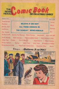 Cover Thumbnail for The News Herald Comic Book the Collectable Comics (Lake County News Herald, 1978 series) #v2#2