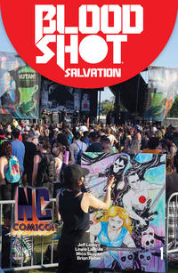 Cover Thumbnail for Bloodshot Salvation (Valiant Entertainment, 2017 series) #1 [NC Comicon - Megan Hutchison]