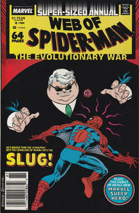 Cover Thumbnail for Web of Spider-Man Annual (Marvel, 1985 series) #4 [Newsstand]