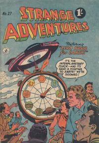 Cover Thumbnail for Strange Adventures (K. G. Murray, 1954 series) #27
