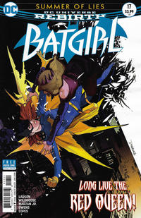 Cover Thumbnail for Batgirl (DC, 2016 series) #17 [Dan Mora Cover]