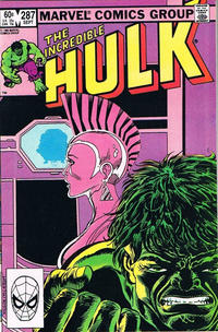 Cover Thumbnail for The Incredible Hulk (Marvel, 1968 series) #287 [Direct]