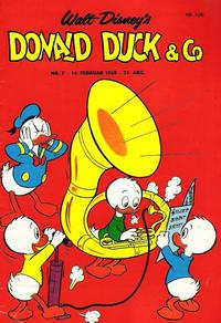 Cover Thumbnail for Donald Duck & Co (Hjemmet / Egmont, 1948 series) #7/1968