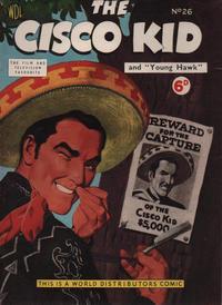 Cover Thumbnail for Cisco Kid (World Distributors, 1952 series) #26