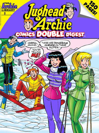 Cover for Jughead and Archie Double Digest (Archie, 2014 series) #8