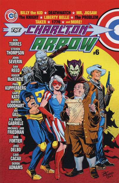 Cover for The Charlton Arrow (Comicfix, 2014 series) #6