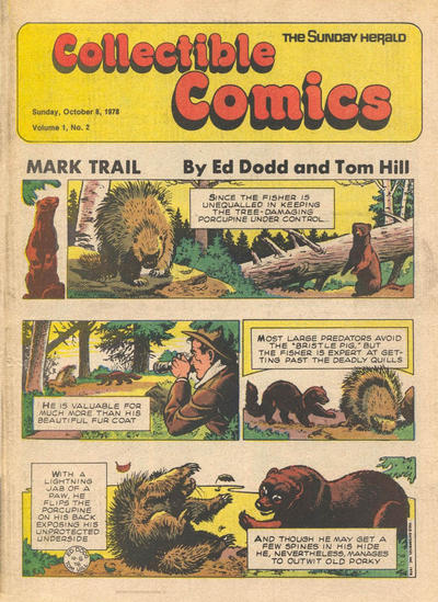 Cover for The Sunday Herald Collectible Comics (Chicago Daily Herald, 1978 series) #v1#2