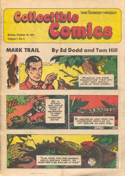 Cover for The Sunday Herald Collectible Comics (Chicago Daily Herald, 1978 series) #v1#3