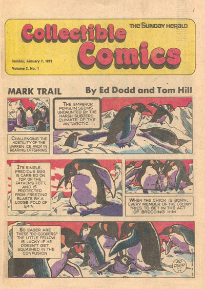 Cover for The Sunday Herald Collectible Comics (Chicago Daily Herald, 1978 series) #v2#1