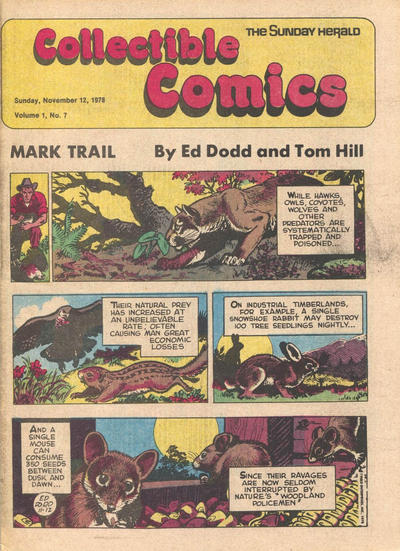 Cover for The Sunday Herald Collectible Comics (Chicago Daily Herald, 1978 series) #v1#7