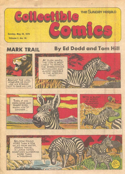 Cover for The Sunday Herald Collectible Comics (Chicago Daily Herald, 1978 series) #v2#20