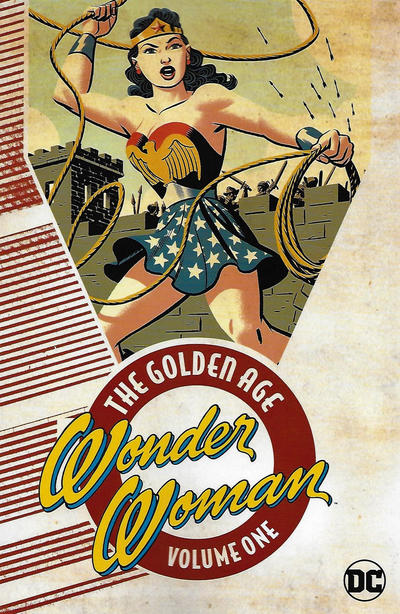 Cover for Wonder Woman: The Golden Age (DC, 2017 series) #1