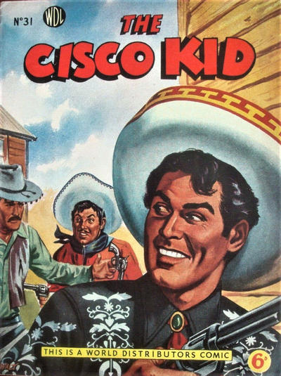 Cover for Cisco Kid (World Distributors, 1952 series) #31