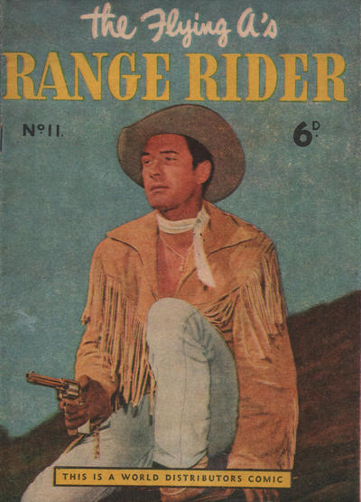 Cover for Flying A's Range Rider (World Distributors, 1954 series) #11