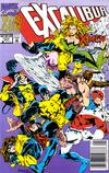 Cover Thumbnail for Excalibur: XX Crossing (1992 series)  [Newsstand]