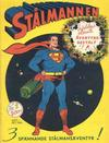 Cover for Stålmannen (Centerförlaget, 1949 series) #1/1949