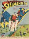 Cover for Stålmannen (Centerförlaget, 1949 series) #15-16/1950