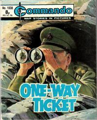 Cover Thumbnail for Commando (D.C. Thomson, 1961 series) #1038
