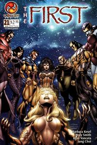Cover Thumbnail for The First (CrossGen, 2000 series) #21