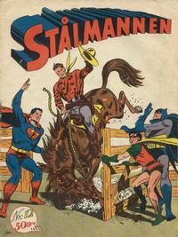 Cover Thumbnail for Stålmannen (Centerförlaget, 1949 series) #12/1950