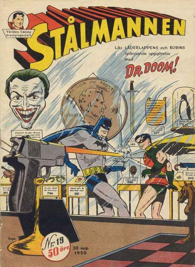 Cover for Stålmannen (Centerförlaget, 1949 series) #19/1950