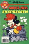 Cover for Donald Pocket (Hjemmet / Egmont, 1968 series) #46 - Mikke Mus ekspressen [3. utgave bc-F 670 38]