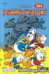 Cover for Donald Pocket (Hjemmet / Egmont, 1968 series) #204 - Håndfast opptreden [2. utgave bc 239 60]