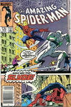 Cover for The Amazing Spider-Man (Marvel, 1963 series) #272 [Canadian Newsstand Edition]