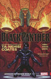 Cover for Black Panther (Marvel, 2016 series) #4 - Avengers of the New World Part One