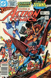 Cover for Action Comics (DC, 1938 series) #546 [Canadian]