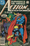 Cover Thumbnail for Action Comics (1938 series) #593 [Canadian]