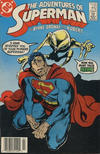 Cover Thumbnail for Adventures of Superman (1987 series) #442 [Canadian Newsstand]