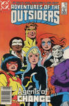 Cover for Adventures of the Outsiders (DC, 1986 series) #36 [Canadian]