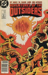Cover Thumbnail for Adventures of the Outsiders (1986 series) #39 [Canadian]