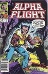 Cover for Alpha Flight (Marvel, 1983 series) #13 [Canadian]