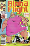 Cover Thumbnail for Alpha Flight (1983 series) #22 [Canadian]
