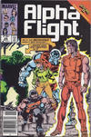 Cover Thumbnail for Alpha Flight (1983 series) #28 [Canadian]