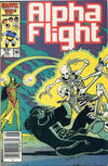 Cover Thumbnail for Alpha Flight (1983 series) #35 [Canadian Newsstand Edition]