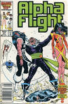 Cover Thumbnail for Alpha Flight (1983 series) #37 [Canadian]