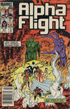 Cover Thumbnail for Alpha Flight (1983 series) #24 [Canadian]