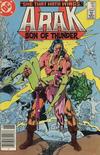 Cover for Arak / Son of Thunder (DC, 1981 series) #45 [Canadian]
