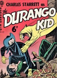 Cover Thumbnail for Durango Kid (Cartoon Art, 1950 ? series) #v2#27