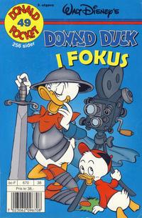 Cover Thumbnail for Donald Pocket (Hjemmet / Egmont, 1968 series) #49 - Donald Duck i fokus [3. utgave bc-F 670 38]