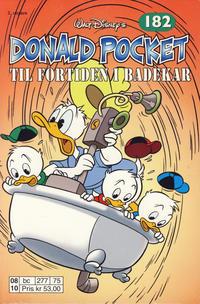 Cover Thumbnail for Donald Pocket (Hjemmet / Egmont, 1968 series) #182 - Til fortiden i badekar [2. utgave bc 277 75]